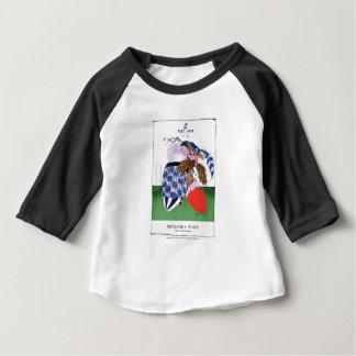 scotland v wales rugby balls tony fernandes baby T-Shirt