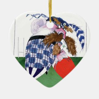 scotland v wales rugby balls tony fernandes christmas ornament