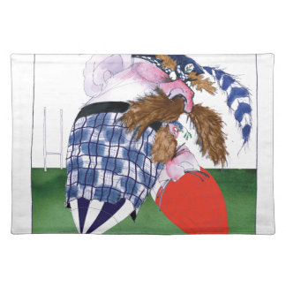 scotland v wales rugby balls tony fernandes placemat