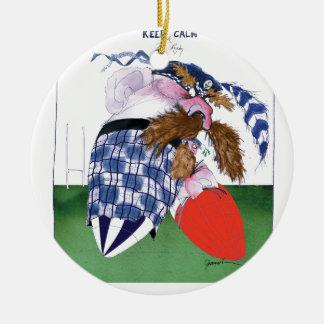 scotland v wales rugby balls tony fernandes round ceramic decoration