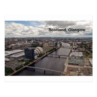 Scotland view from glasgow tower (St.K.) Postcard