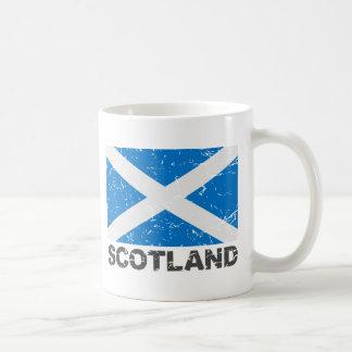 Scotland Vintage Flag Coffee Mug