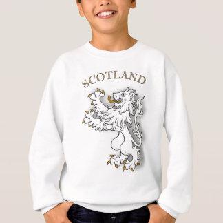 Scotland white lion sweatshirt