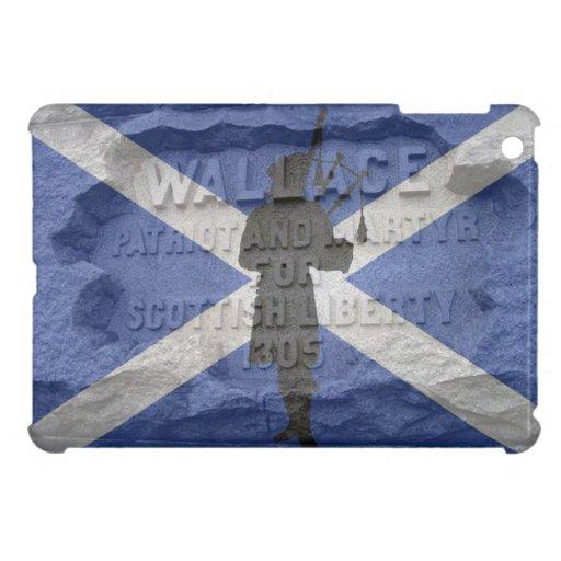 Scotland, William Wallace, flag pipes bag pipers iPad Mini Cover