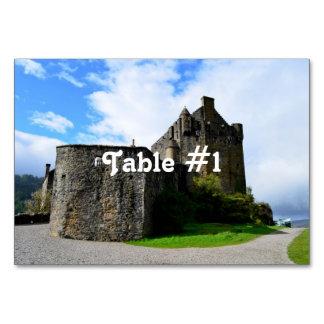 Scotland's Eileen Donan Castle Table Cards