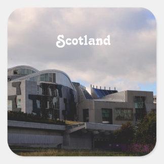 Scotland's Parliament Square Stickers