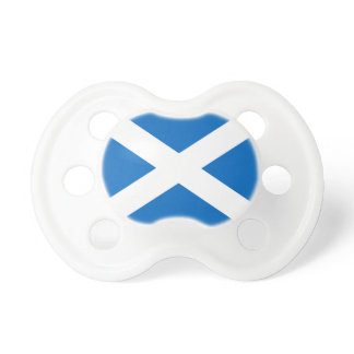 Scotland's Saltire,Scottish Flag (Official Colour) Baby Pacifier
