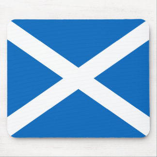 Scotland's Saltire,Scottish Flag (Official Colour) Mouse Mat