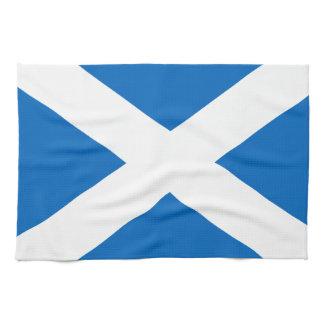 Scotland's Saltire,Scottish Flag (Official Colour) Tea Towels