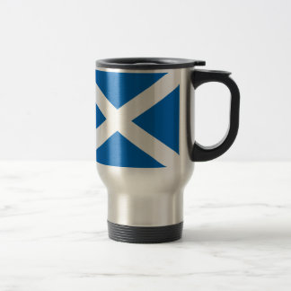 Scotland's Saltire,Scottish Flag (Official Colour) Travel Mug