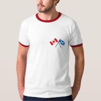 Scots Canadian Flag Tshirt