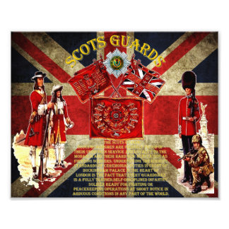 Scots Guards 1642-present day Photo. Photograph