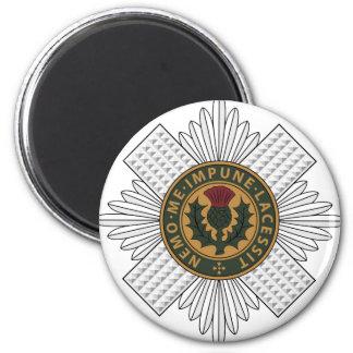 Scots Guards 6 Cm Round Magnet