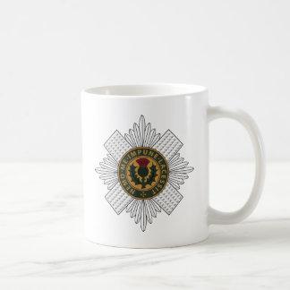 Scots Guards Basic White Mug