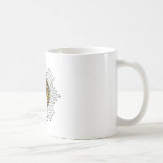 Scots Guards Classic White Coffee Mug