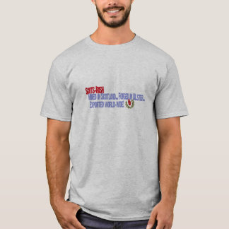 Scots-Irish: Mined in Scotland, Forged in Ulster.. T-Shirt