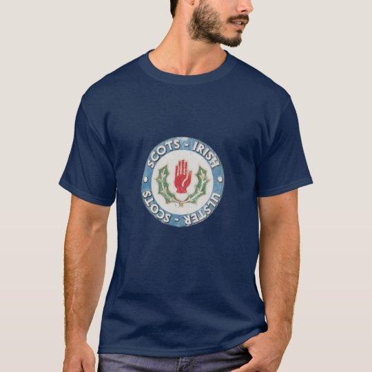 Scots-Irish / Ulster-Scots (distressed design) T-Shirt