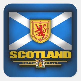 Scots Pride Square Sticker