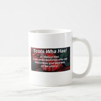 Scots Wha Hae-Tartan Coffee Mugs