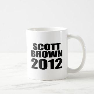 Scott Brown 2012 Mugs