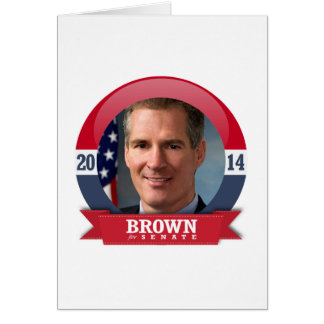 SCOTT BROWN CAMPAIGN CARDS