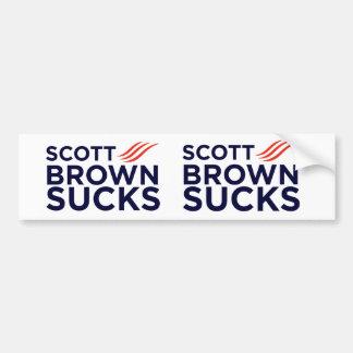 Scott Brown Sucks Stickers