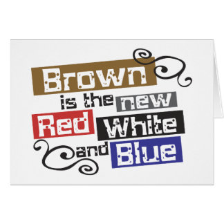 Scott Brown the new Red, White and Blue, NH Senate Greeting Card