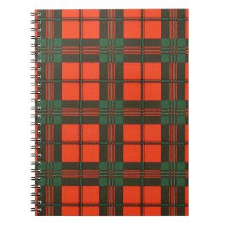 Scott clan Plaid Scottish tartan Notebook