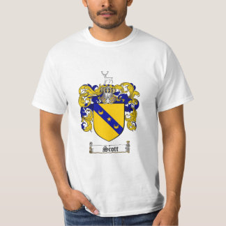 Scott Family Crest - Scottish Coat of Arms T-Shirt