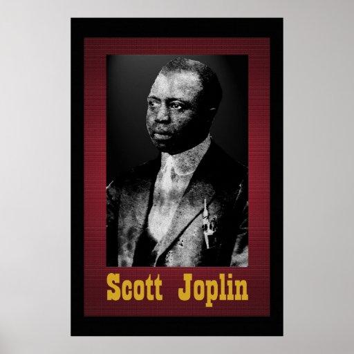 Scott Joplin 36 x 24 Poster