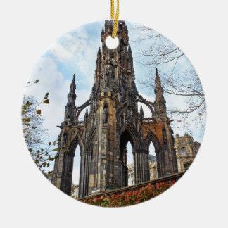 scott monument.jpg christmas ornament