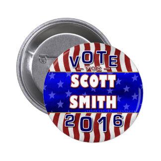 Scott Smith President 2016 Election Independent 2 Inch Round Button