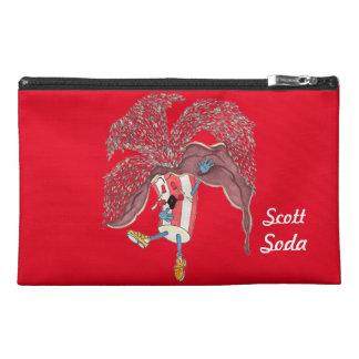 "'Scott Soda' 9""x6"" Pencil Case Travel Accessory Bags"