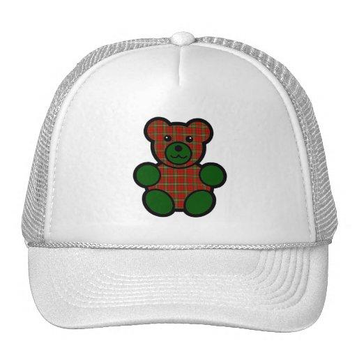 Scott Tartan Plaid Teddy Bear Hats