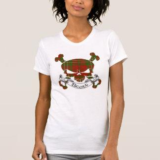 Scott Tartan Skull T-Shirt