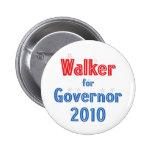 Scott Walker for Governor 2010 Star Design Button