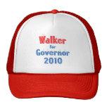 Scott Walker for Governor 2010 Star Design Mesh Hat