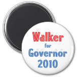 Scott Walker for Governor 2010 Star Design Magnets