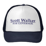 Scott Walker for Governor Mesh Hat