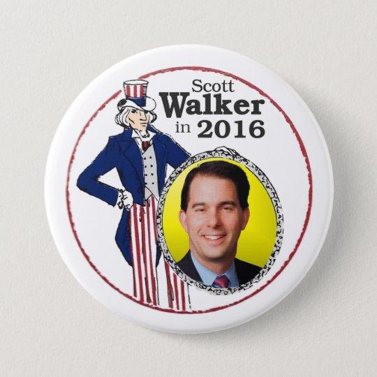 Scott Walker in 2016 7.5 Cm Round Badge