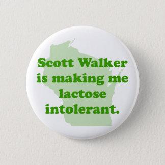 Scott Walker intolerance 6 Cm Round Badge