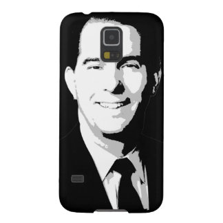 Scott Walker Political Portrait Cases For Galaxy S5