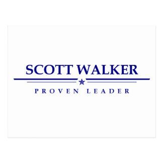 Scott Walker: Proven Leader Postcard