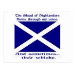 Scott Whisky St. Andrew Postcard