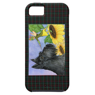 Scottie and sunflower fairy iPhone 5 cover