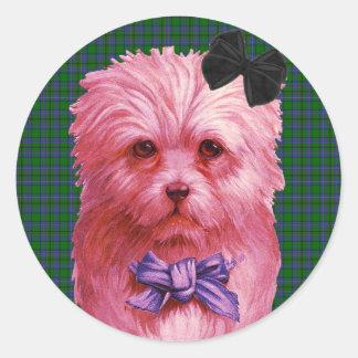 Scottie Classic Round Sticker