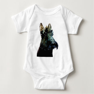 Scottie Dog Baby Bodysuit