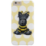 Scottie Dog Bee KiniArt Barely There iPhone 6 Plus Case