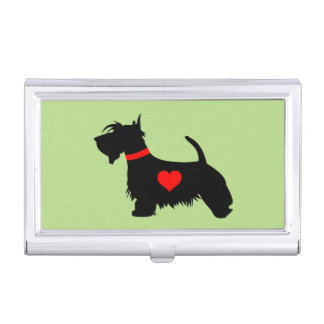 Scottie Dog Business Card Holder