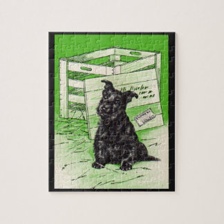 Scottie dog by special delivery jigsaw puzzle